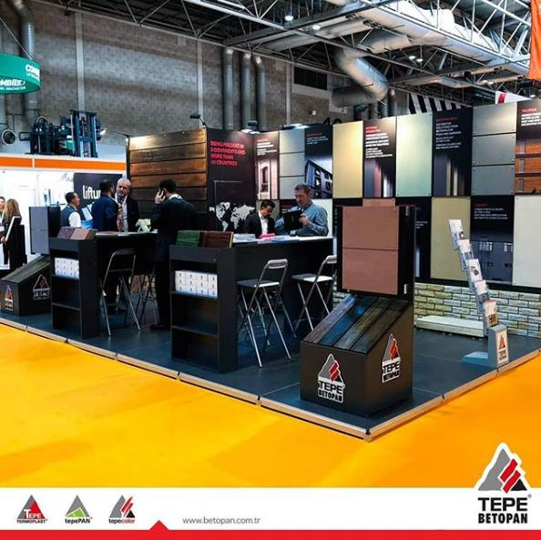 Tepe Betopan UK Construction Week'te !